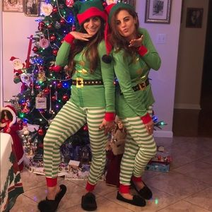 Elf pajamas and/or costume